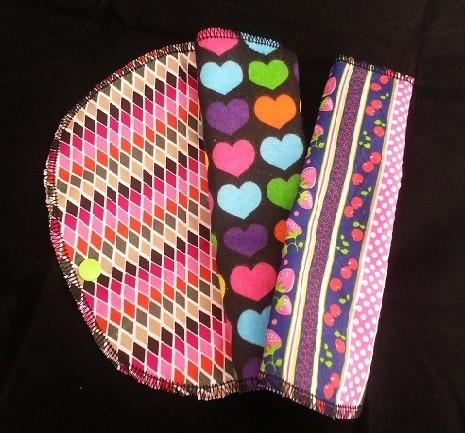 EnvironMenstruals cloth panty liners